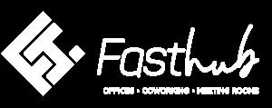 Fast hub logo White
